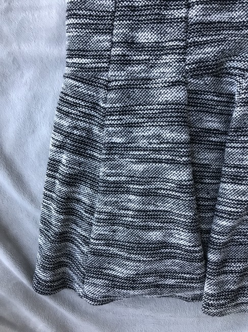 Banana Republic Black and White Marled Tweed Fit-and-flare Short Work/Office Dress Size 6 (S) Banana Republic Black and White Marled Tweed Fit-and-flare Short Work/Office Dress Size 6 (S) Image 8