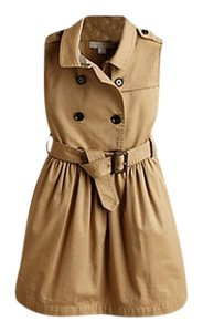 Burberry short dress Honey Girls Trench on Tradesy
