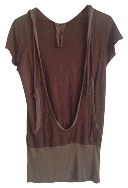 Preload https://item4.tradesy.com/images/young-fabulous-and-broke-brown-tunic-size-4-s-299403-0-0.jpg?width=400&height=650