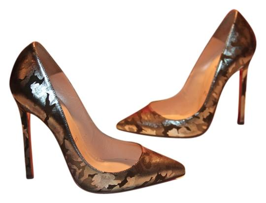Christian Louboutin Pigalle Camo Camouflage Pumps