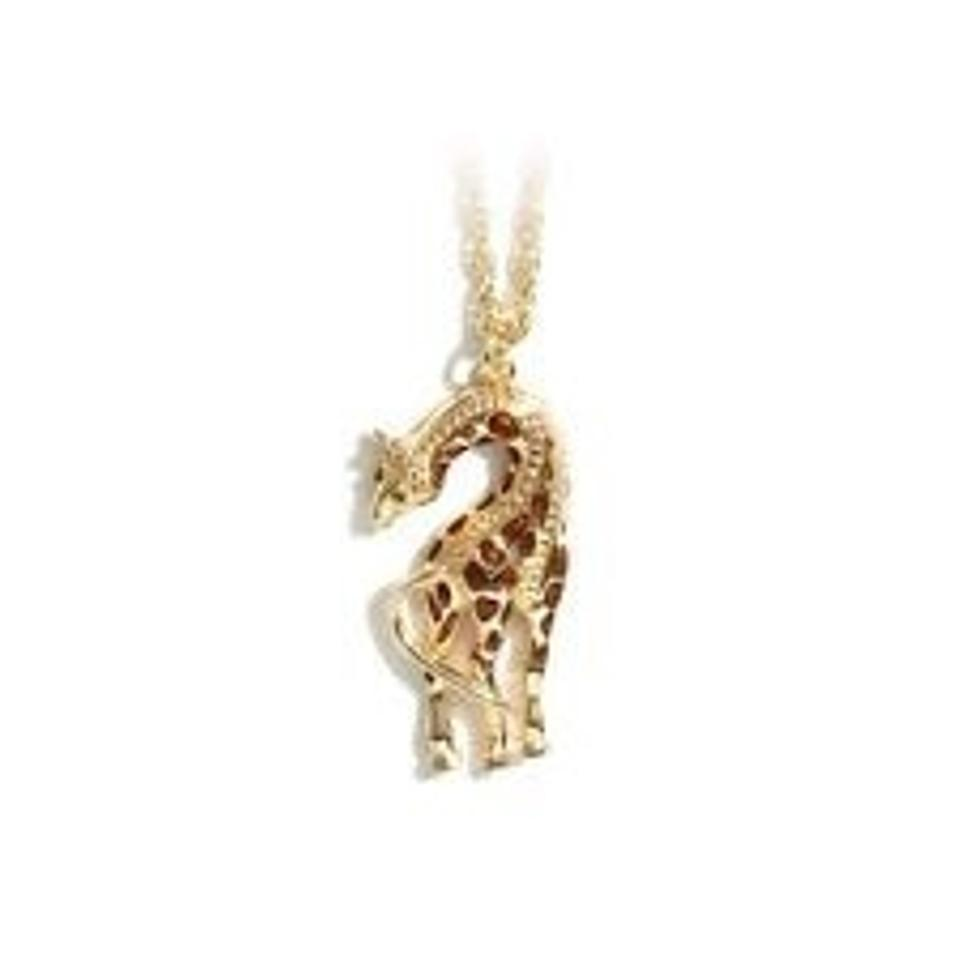 product pendant necklace giraffe
