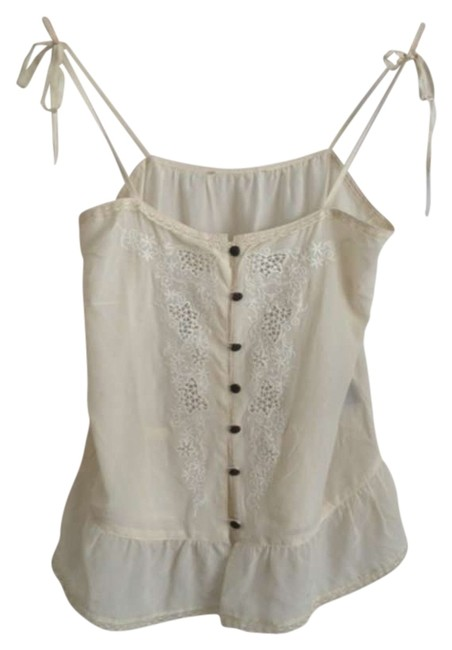 Preload https://item5.tradesy.com/images/white-tank-topcami-size-4-s-299429-0-0.jpg?width=400&height=650