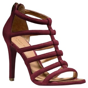 Coach Wine/Marsala Sandals