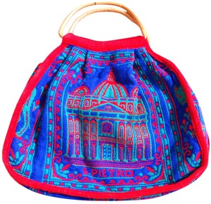 Other Italian Bamboo Wool Tote in Roman scenery