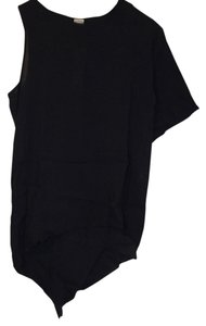 Oak NY Assymetrical Top Black