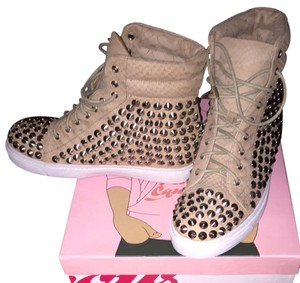 Jeffrey Campbell Nude Snake/Silver Athletic