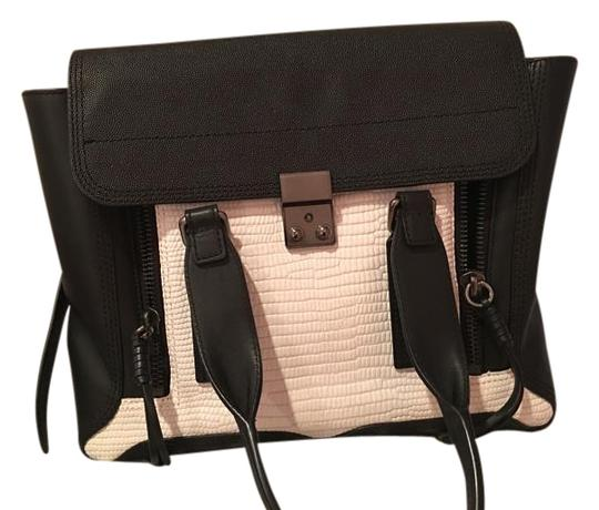 Preload https://item3.tradesy.com/images/31-phillip-lim-black-and-white-leather-satchel-2995327-0-4.jpg?width=440&height=440