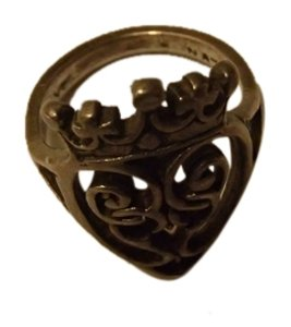 Antique Iona Silver Ring from Scotland.