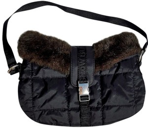 Other Fur-trimmed Shoulder Bag