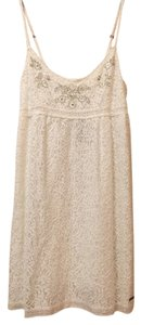 Abercrombie & Fitch short dress Cream on Tradesy