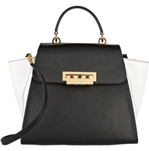 Zac Posen Satchel in Black And White