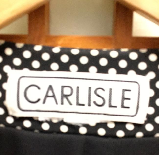 Carlisle Sequin Knit Sequins Holiday In-style Party Date Night Night Out Theater Broadway Dining Symphony Ballet Christmas New Black & White Jacket