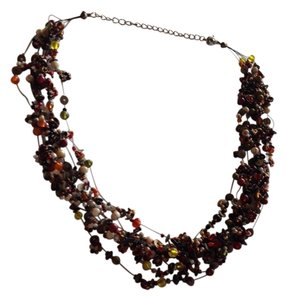 Other Multi Strand Beaded Necklace