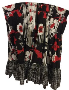 Other Skirt Black/Red/White