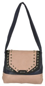 Just Cavalli Satchel in Navy/Pink