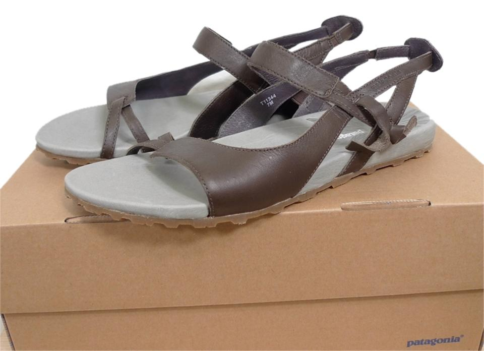 fbf0ee1e996 Patagonia Brown Leather Sandals Size US 7 Regular (M