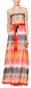 Multi Printed Maxi Dress by Shoshanna Tie Dye Strapless Maxi Multi Boho