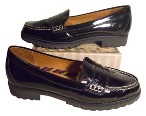 Sperry Leather Mbc black Flats