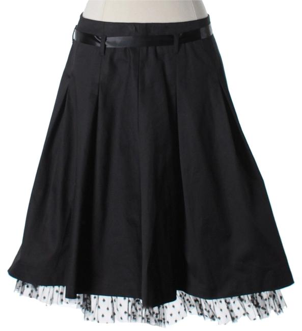 Preload https://item5.tradesy.com/images/avenue-montaigne-ruffle-knee-length-skirt-size-2-xs-26-2997754-0-0.jpg?width=400&height=650