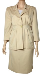 Mary Ann Restivo Mary Ann Restivo 100% Wool Skirt Suit