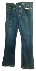 Gap Trouser Long Lean 1969 Trouser/Wide Leg Jeans-Dark Rinse