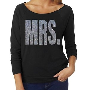 Mrs. Off Shoulder Glitter Shirt Choose Your Color And Size Bride Shirt Bride Gift Wedding Bridal Shower Gift Glitter