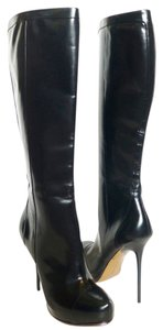 Mark & James by Badgley Mischka Leather Platform Black Boots