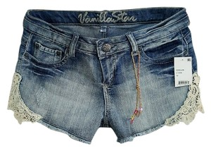 Vanilla Star Mini/Short Shorts Light Wash