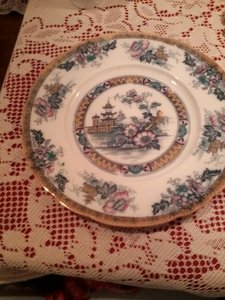 Royal Staffordshire Plate - Yeddo Pattern