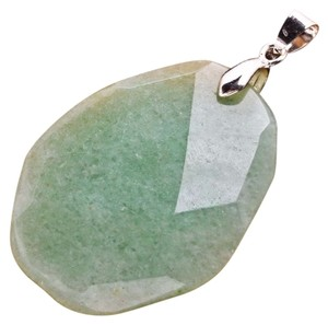 Other NEW NATURAL GREEN AVENTURINE GEMSTONE PENDANT