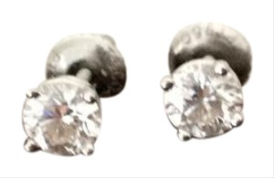 Tiffany & Co. Tiffany Platinum Dianond Stud Earrings