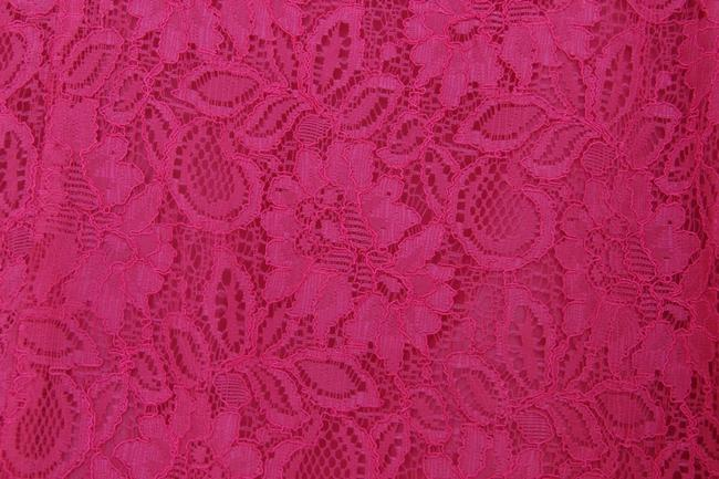 Versona A-line Lace Skirt Hot Pink