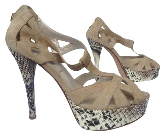 Bruno Magli Taupe Suede Pumps Size US 6 Regular (M, B) Bruno Magli Taupe Suede Pumps Size US 6 Regular (M, B) Image 1