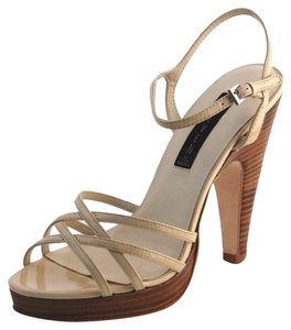 Steven by Steve Madden New Leather Nude beige Sandals