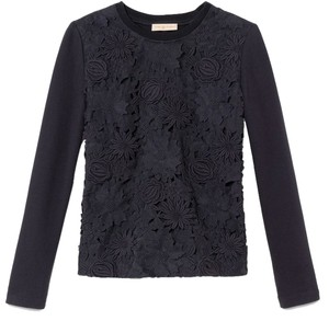 Tory Burch Maretta Floral Sweater