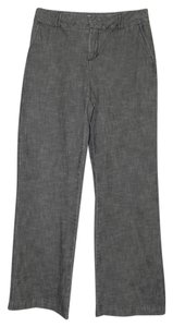 Coldwater Creek Cotton Machine Washable Trouser/Wide Leg Jeans-Medium Wash