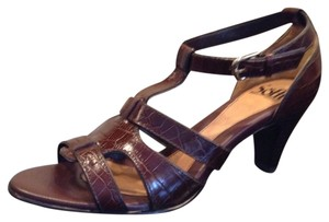 Söfft New Leather Comfort Comfortable Brown Sandals
