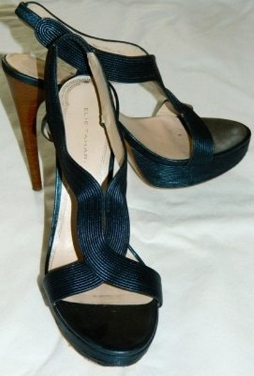 Elie Tahari Midnight Sandals