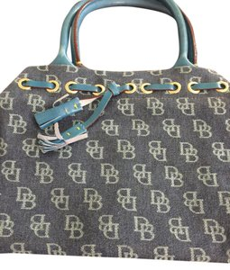 Dooney & Bourke Tote in Blue Denim