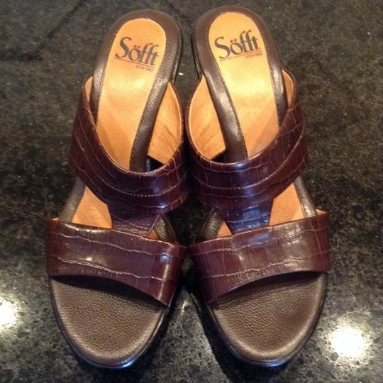 Eürosoft by Söfft New Leather Comfortable Comfort brown Sandals