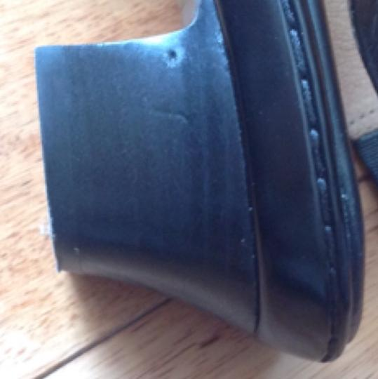 Eürosoft by Söfft Like New Leather Comfortable Comfort black Sandals