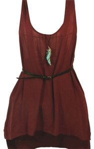 ASTR Maroon Red Wine Top Burgundy