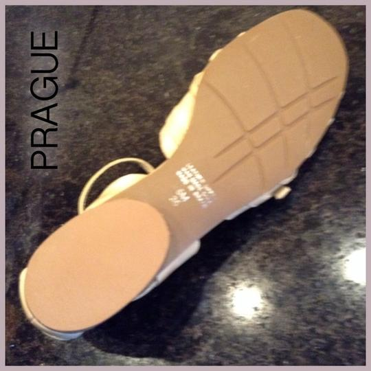 Other New Leather Natural Sandals