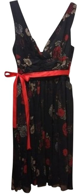 Preload https://item5.tradesy.com/images/forever-21-black-with-redbeigebrown-flowers-knee-length-night-out-dress-size-12-l-30019-0-1.jpg?width=400&height=650