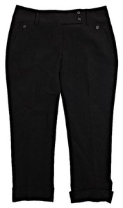 Tahari Capri/Cropped Pants Black