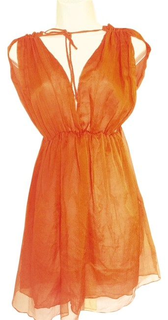 Steve Madden Orange Cover Up