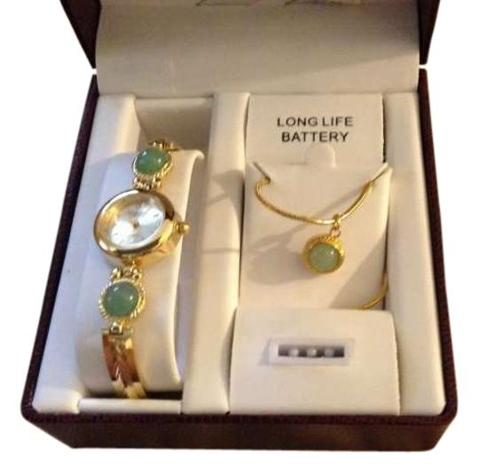 Preload https://item3.tradesy.com/images/prestige-watch-and-necklace-set-300287-0-1.jpg?width=440&height=440