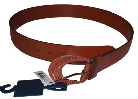 Chaps Chaps Brown Faux Leather Wide Belt Size S New