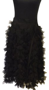 Monique Lhuillier Skirt Black