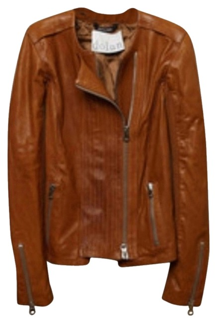 Preload https://item3.tradesy.com/images/dolan-browncognac-moto-leather-jacket-size-12-l-3003577-0-0.jpg?width=400&height=650
